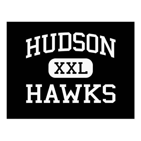 Hudson - Hawks - Catholic - Jersey City New Jersey Postcard