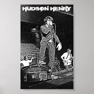 Hudson Henry Tour Poster
