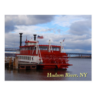 Hudson River Ferry Postcard