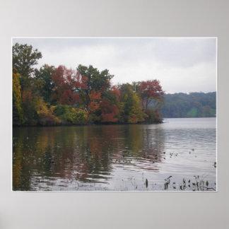 Hudson River Landscape Print