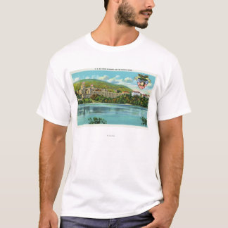 Hudson River View of US Military Academy T-Shirt