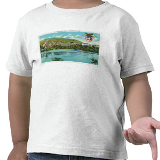 Hudson River View of US Military Academy T-shirts
