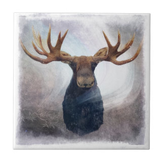 Hudson the Moose Tile