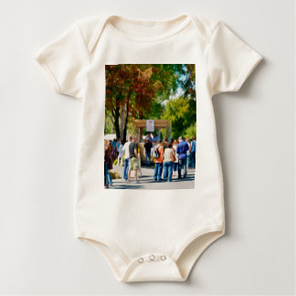 Hudson Valley Garlic Festival Baby Bodysuit
