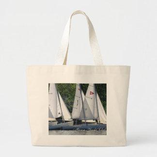 Hudson Yacht Club Sailboat Beach Bag