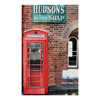 Hudson's Super Soap Sign
