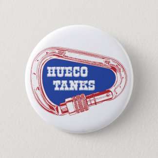 Hueco Tanks Carabiner 2 Inch Round Button