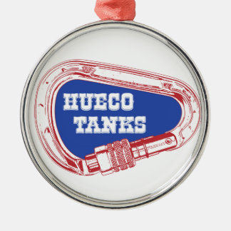 Hueco Tanks Carabiner Metal Ornament