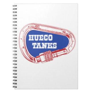Hueco Tanks Carabiner Spiral Notebook