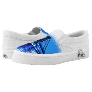Hues of Blues Bridge Z slipons Slip-On Sneakers