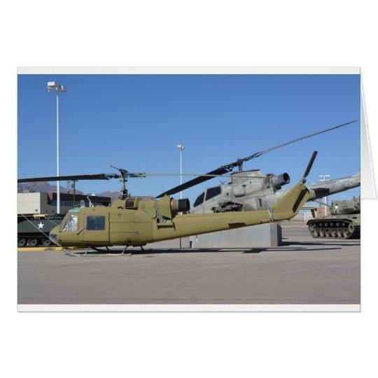 Huey & Cobra helicopters Aircraft Destiny Card