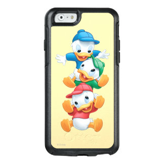 Huey, Dewey, and Louie | Stacked OtterBox iPhone 6/6s Case