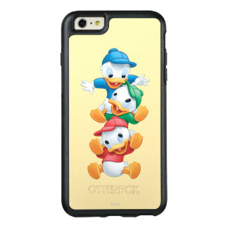 Huey, Dewey, and Louie | Stacked OtterBox iPhone 6/6s Plus Case