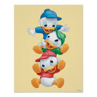 Huey, Dewey, and Louie | Stacked Poster