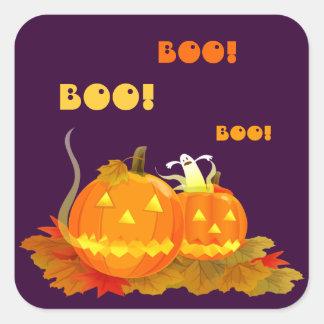 Huez ! Autocollants de Jack O'lantern Halloween