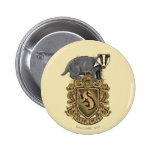 HUFFLEPUFF™ Crest 2 Inch Round Button