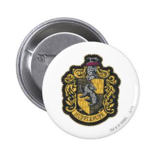 Hufflepuff Crest 2 Inch Round Button