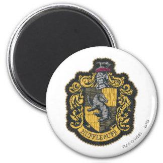 Hufflepuff Crest 2 Inch Round Magnet