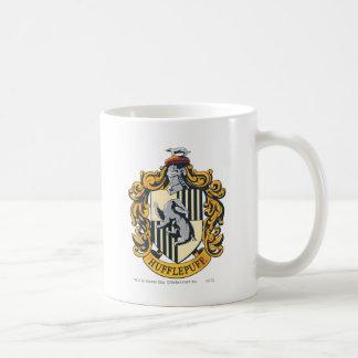 Hufflepuff Crest Classic White Coffee Mug