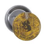 Hufflepuff Crest HPE6 Button