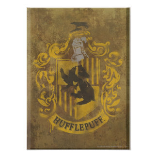 Hufflepuff Crest HPE6 Print