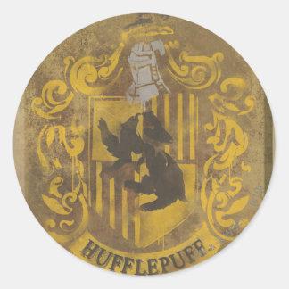 Hufflepuff Crest HPE6 Round Sticker