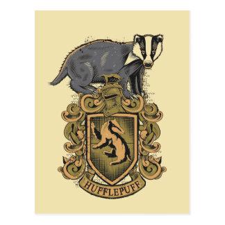 HUFFLEPUFF™ Crest Postcard