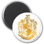 Hufflepuff Crest - Splattered Fridge Magnets