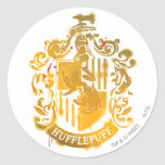 Hufflepuff Crest - Splattered Stickers