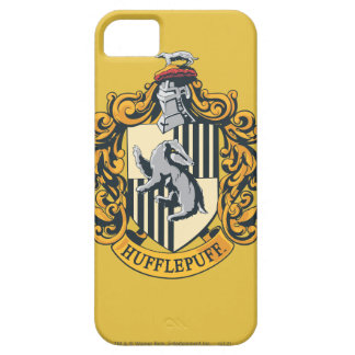 Hufflepuff House Crest iPhone 5 Cases