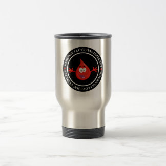 Hug a Diabetic Travel Mug