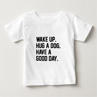 Hug a Dog Baby T-Shirt