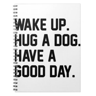 Hug a Dog Notebooks
