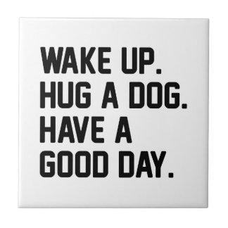 Hug a Dog Tile