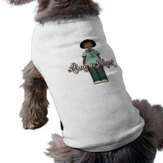 Hug a Friendly Smiling Nurse Pet Tee