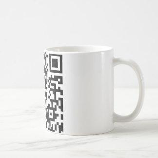 Hug A Geek QR Code Coffee Mugs
