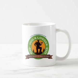 Hug A Logger Coffee Mug
