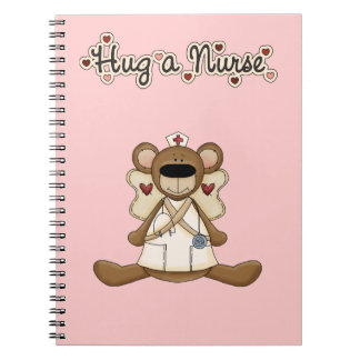 Hug a Nurse Notebooks