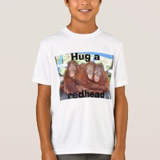 Hug a Redhead (orangutan tee) T-Shirt
