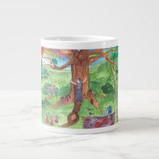 Hug a Tree (2) Giant Coffee Mug