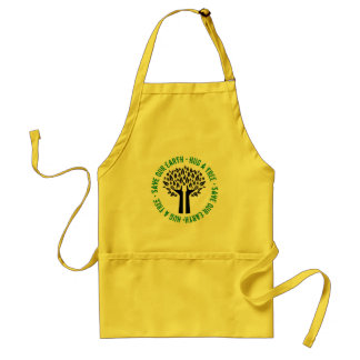 Hug a Tree Save Our Earth Standard Apron