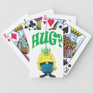 HUG? BICYCLE PLAYING CARDS
