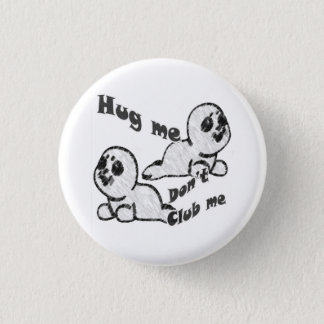 Hug, Don't Club Button