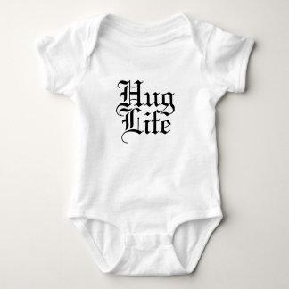 Hug Life Funny Parody Baby Bodysuit