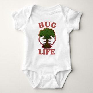 Hug Life Tree Hugger Baby Bodysuit