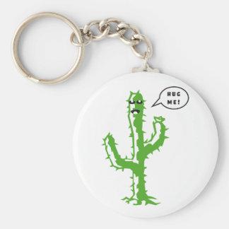 Hug Me Basic Round Button Keychain