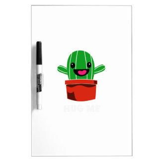 Hug Me - Cactus Dry Erase Board