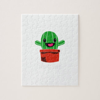 Hug Me - Cactus Jigsaw Puzzle