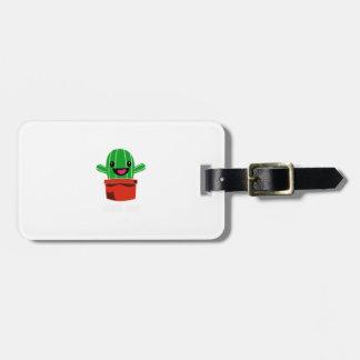Hug Me - Cactus Luggage Tag