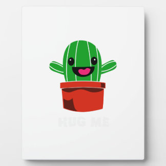 Hug Me - Cactus Plaque
